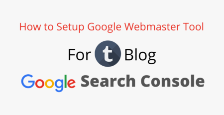 How to Verify Tumblr Blog in Google Google Webmaster Tool